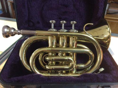 Jean Baptiste Pocket Trumpet  05060518 With Case
