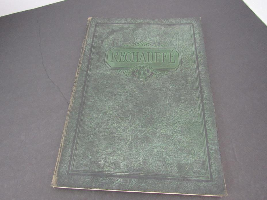 1925 THE RECHAUFFE EASTON HIGH SCHOOL YEARBOOK - PHILADELPHIA - PHOTOS - YB 615