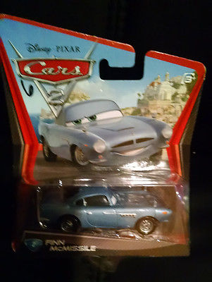 DISNEY PIXAR CARS 2 FINN McMISSILE #2 in the series BRAND NEW