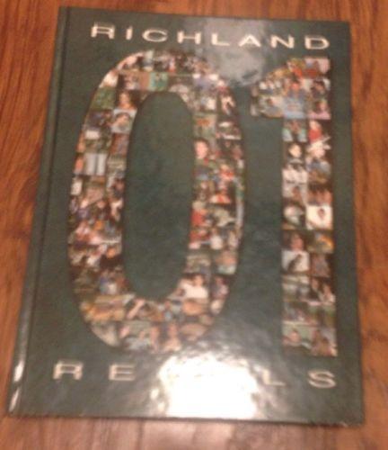 2001 Richland High School Yearbook North Richland Hills Texas