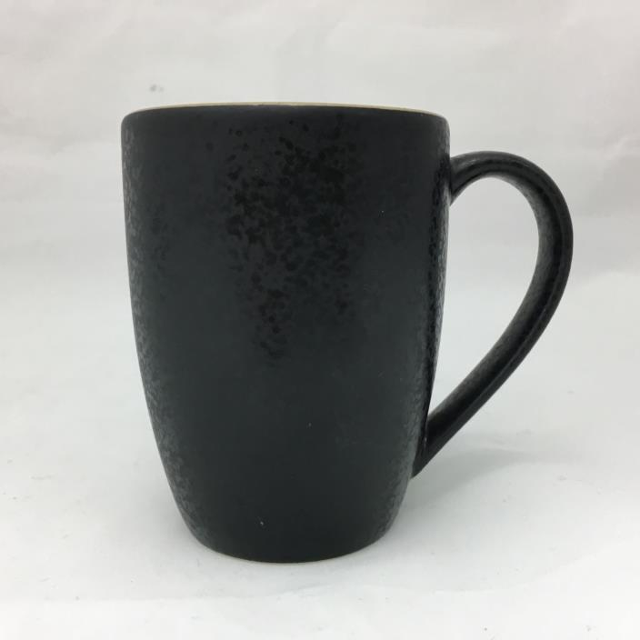 Dansk Santiago Black Coffee Cup Mug Dishwasher and Microwave Safe