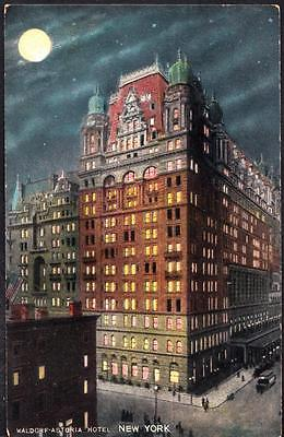 Early 1900's WALDORF ASTORIA HOTEL New York City Postcard (6169)