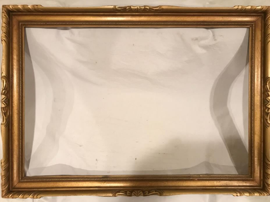 Antique 36x24 Newcomb Macklin Style Gold Picture Frame