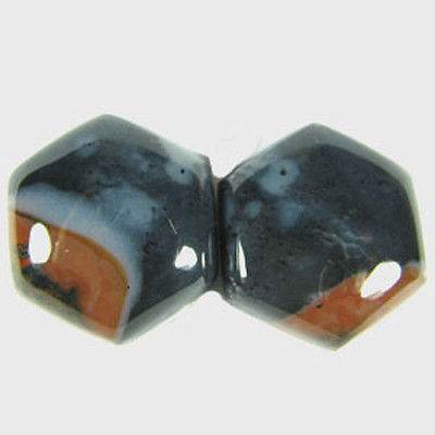 12.16 cts  REALLY NATURAL  EARTH MINED FANCY AGATE FOR EARRING