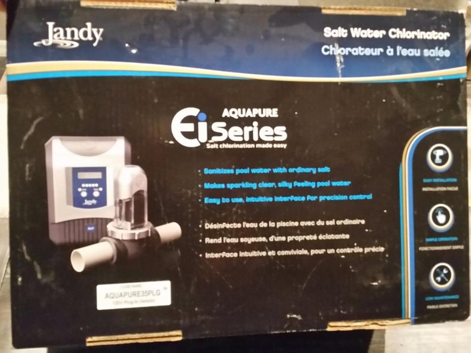 NEW JANDY APURE35PLG  AQUAPURE EI AQUALINK  saltwater chlorinator 120v plug-in
