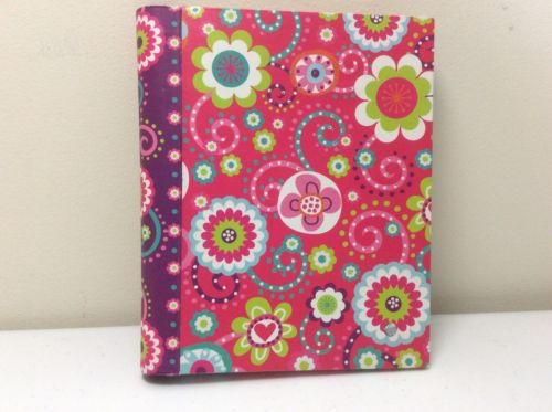 GLO LITE JOURNAL LIGHT UP YOUR WORLD FLOWER PRINT BOOK NOTES