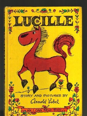 Children's 1964 Lucille Story Pictures by Arnold Lobel An I Can Read Book Horse