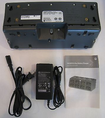 Battery Charger for Motorola RS5070 Ring Scanner (SAC5070-800CR), P/S, Line Cord