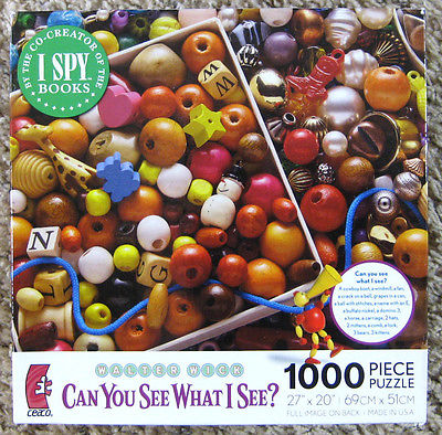 Ceaco Baubles And Beads Jigsaw Puzzle Walter Wick I Spy 1000 Pieces Complete
