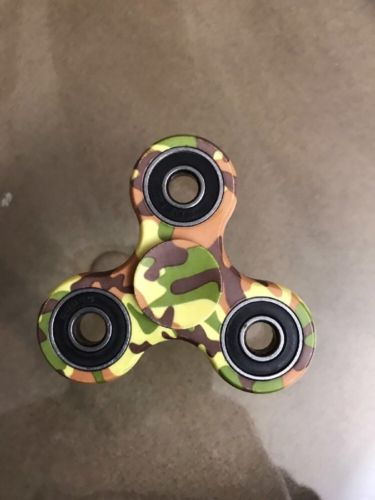 Camouflage Fidget Hand Spinner Made Of Ceramic