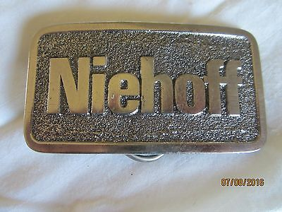 Niehoff Metal Belt Buckle