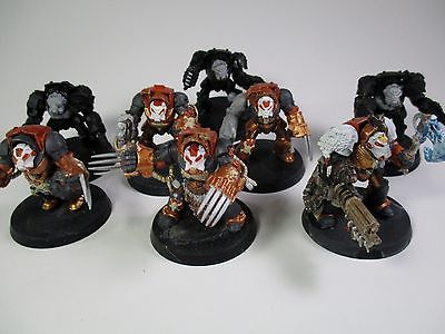 Warhammer 40k Space Marines Close Combat Terminators X8 /missing shoulder pads