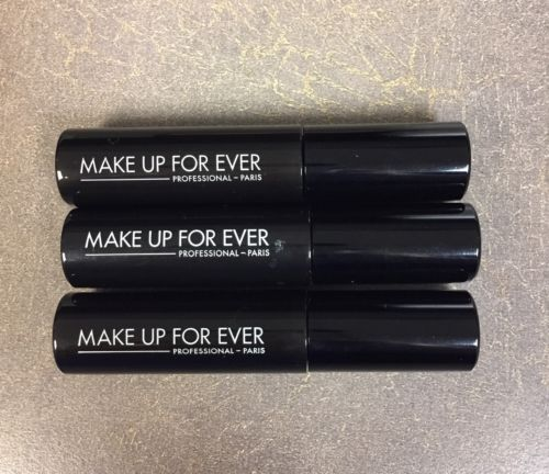 LOT Of 3 Make Up For Ever Smoky Extravagant Mascara Travel Size - Makeup Forever