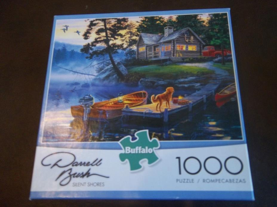 Buffalo 1000 piece puzzle:  Silent Shores Sold as is.