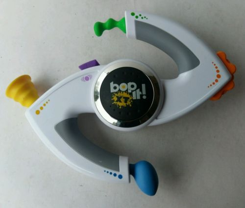 BOP IT! by Hasbro. Interactive Electronic Game White