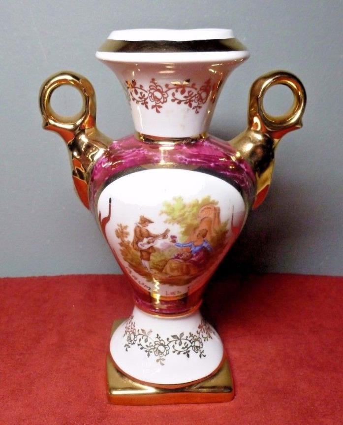 Vintage LIMOGES France Porcelain BUD VASE ~