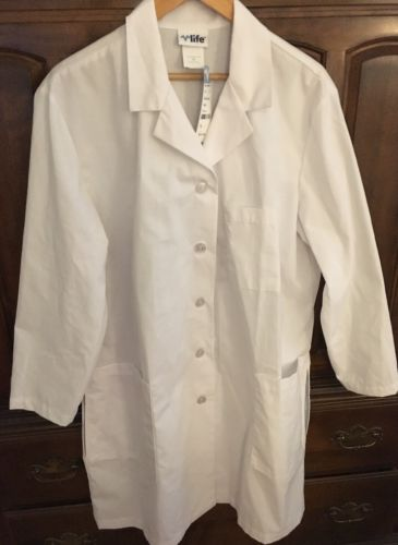 Life White Lab Coat XL NWT Originally $24.99