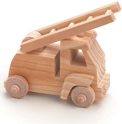 Wood Toy Kit-Fire Truck