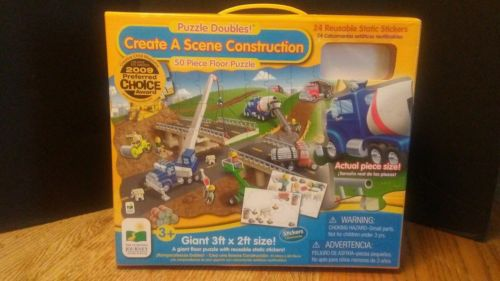(79) The Learning Journey International Create A Scene Construction Puzzle