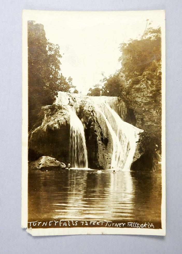RPPC Turner Falls Davis Oklahoma Murray County