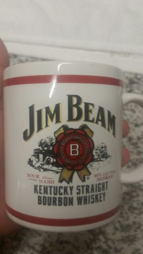 Jim Beam Kentucky Straight Bourbon Whiskey Coffee Mug New Collectible