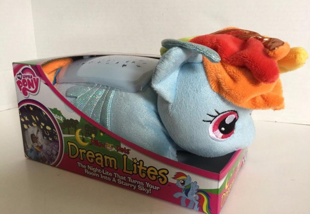 My Little Pony Pillow Pets Dream Lites ~ Rainbow Dash~ New In Box
