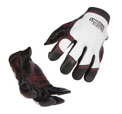 Lincoln Electric K2977 Top Grain Cowhide/Pigskin Steel Worker Gloves, X-Large