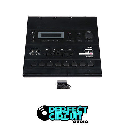 Korg S3 Rhythm Workstation DRUM MACHINE - USED - PERFECT CIRCUIT