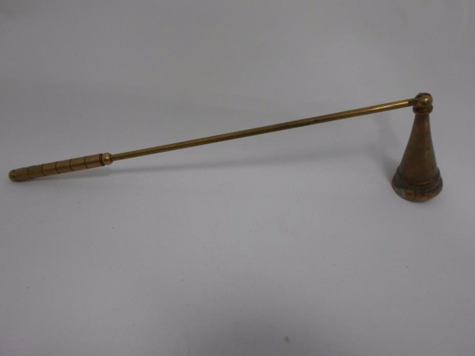 Vintage Candle Snuffer Brass Hinged Andrea by Sadek