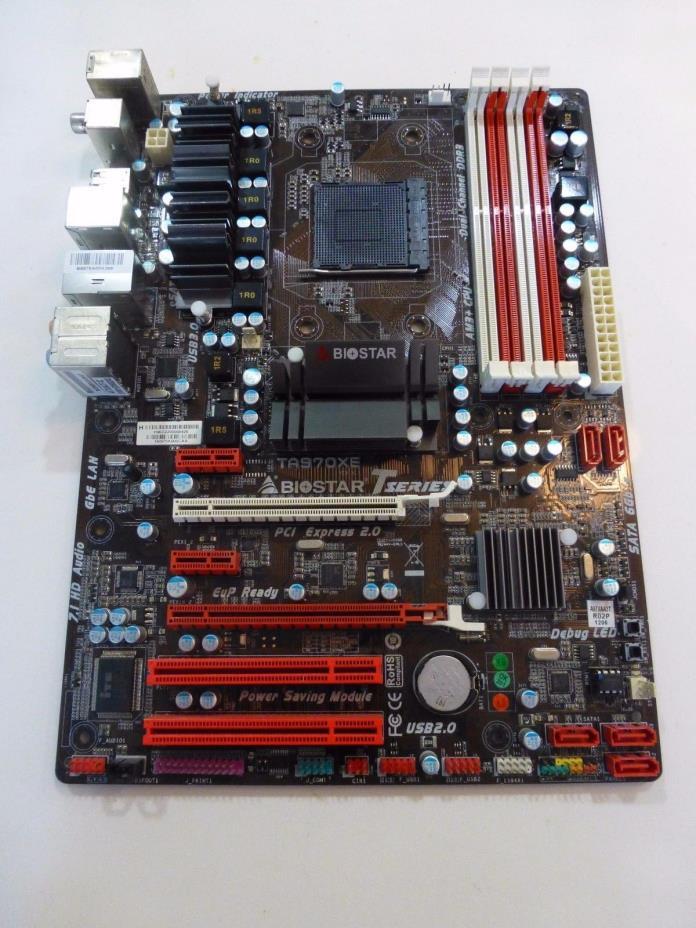 Biostar TA970XE AMD AM3+ Motherboard  970 + SB950 SATA 6Gb/s USB 3.0 ATX UEFI