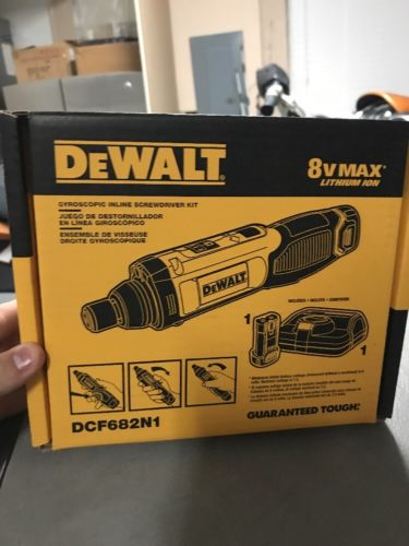 DEWALT DCF682N1R 8V MAX* Gyroscopic Inline Screwdriver Kit