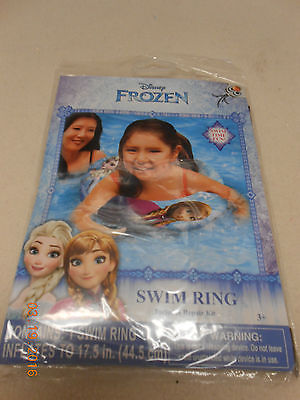NEW Disney Frozen Inflatable swim ring w/ repair kit summer pool fun Free Ship