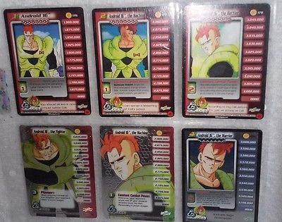 DBZ Android 16 Personality Set Trading Cards