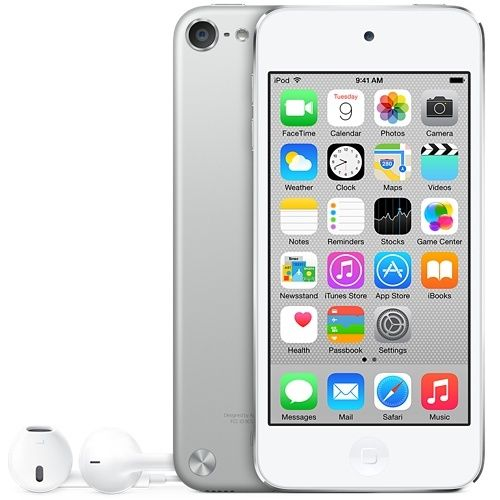 NEW SEALED IN BOX Apple iPod touch 5th Generation Silver/Black (16 GB)