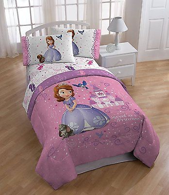 Disney Junior Sofia the First Sweet Princess Twin Size Comforter