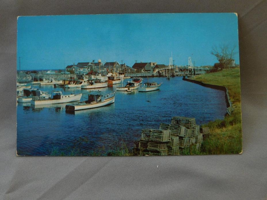 Vintage Postcard: Friendly Cove in Maine
