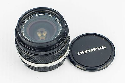 Olympus Zuiko MC 28mm f2.8 Manual Prime Wide Angle Lens With OM Mount