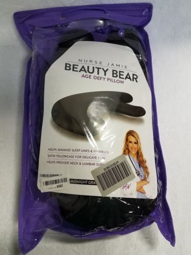 NURSE JAMIE Beauty Bear™ Age Delay Pillow Black