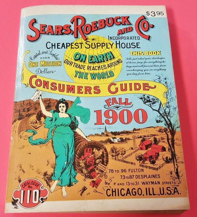 Sears, Roebuck and Co. Consumer's Guide Fall 1900 Replica (13/C)