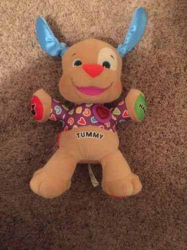 Fisher-Price Laugh and Learn Smart Stages Puppy Dog Interactive Plush Toy