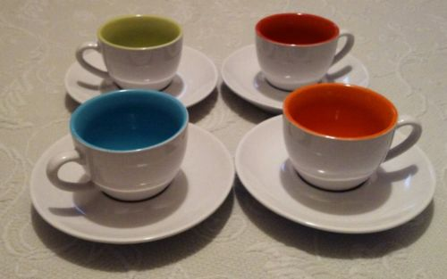 Desert Pepper Trading Co. Tea Cups and Saucers