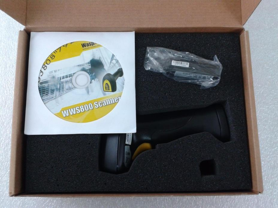 Wasp WWS800 Bluetooth Wireless Barcode Scanner - Battery Included, #28819