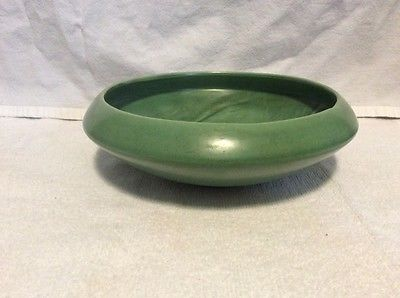 Red Wing Pottery Green Bulb Bowl Planter 1581