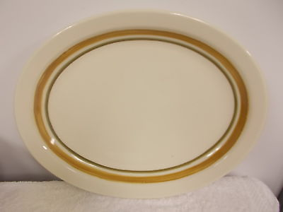 Vintage Homer Laughlin China Heavy Porcelain Platter Plate Restaurant Ware
