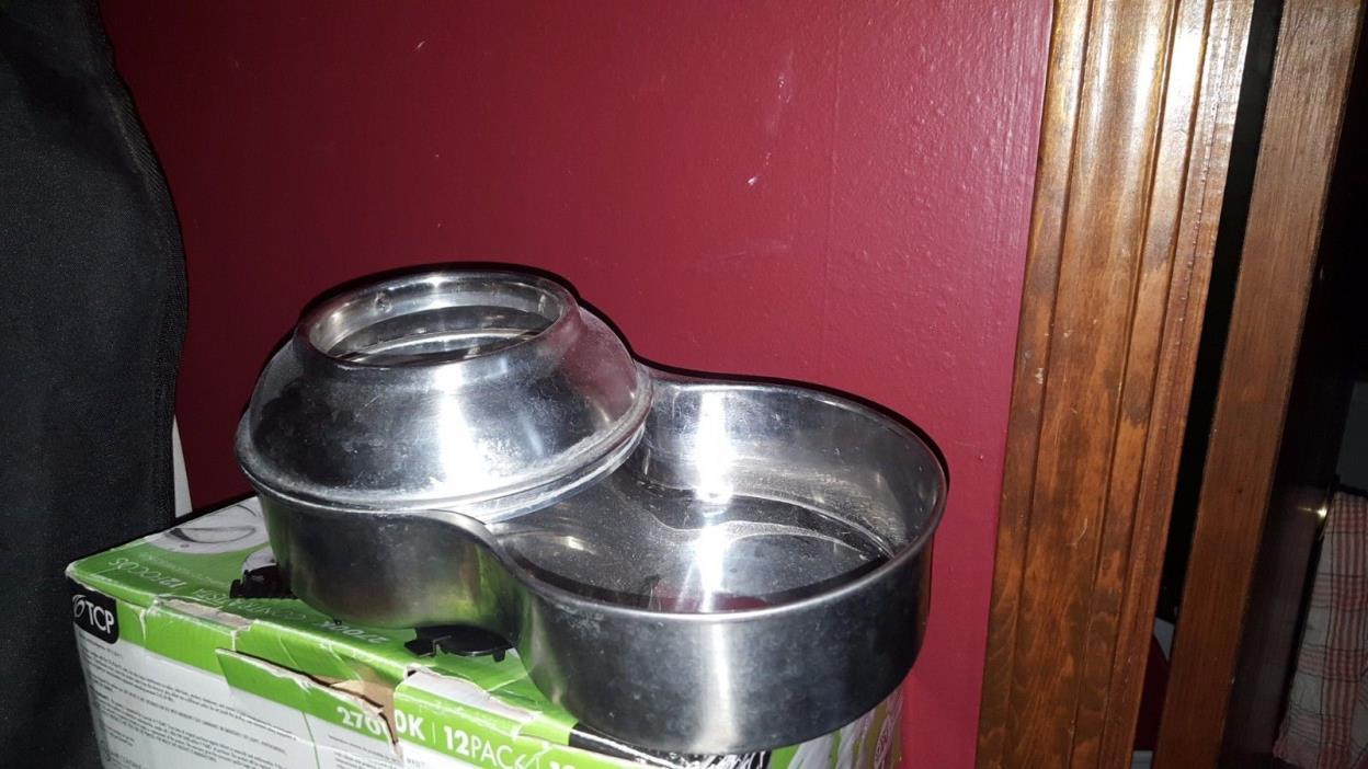Stainless Steel Pet Waterer W/O Bottle