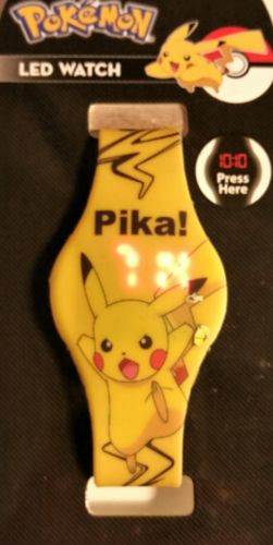 POKÉMON PIKA Led Digital Watch By Accutime.   NEW with tags 2015