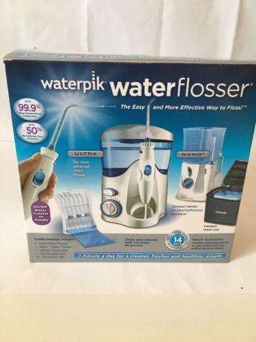 Waterpik wp-130W/WP-305W Water Flosser *Retail Box* (25475)