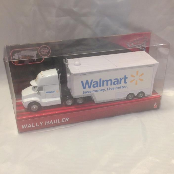 WALLY HAULER - CARS 3 2017 WALMART EXCLUSIVE DIE-CAST TRUCK FREE SHIP