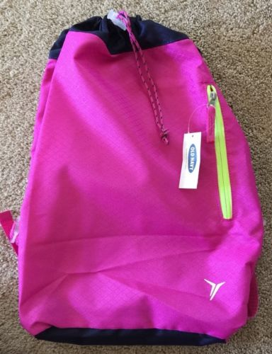 New Old Navy Performance Fuchsia  Backpack