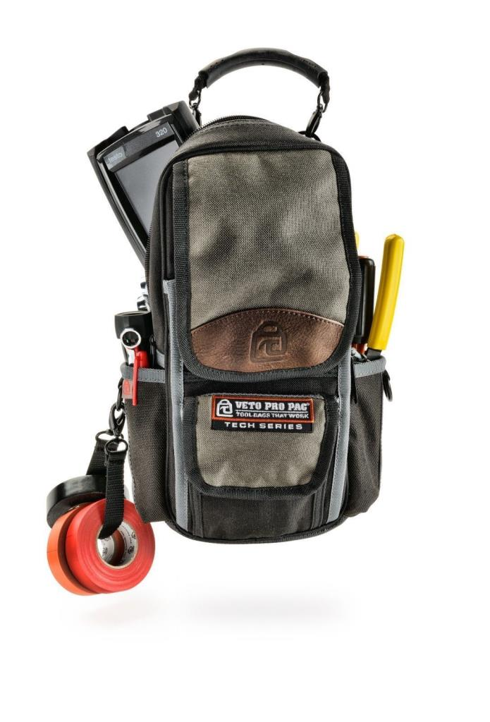 Veto Pro Pac MB2 Tech Series Tall Meter & Tool Pouch Electricians & HVAC techs